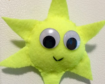 Felt Sun Magnet