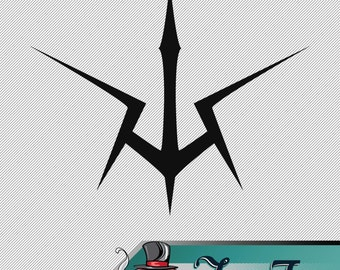 Vinyl Decal- Code Geass Black Knight Logo