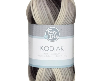 Dark Night Space Dye Kodiak Space Dye Yarn Wool (Pre-Order)