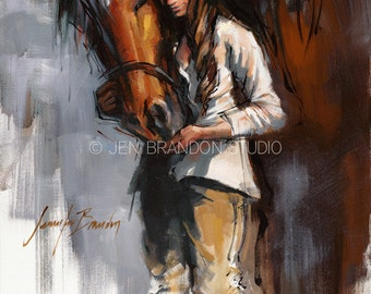 Crown Prince Horse Art Giclée Fine Art Print