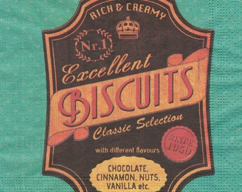 391 cookies X 4 1 towel lunch size paper pattern