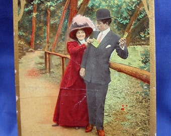 Vintage Humorous Postcard