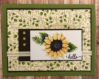 Autumn Hello Card Class Kit