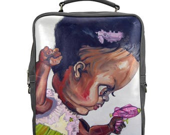 DOLLY Large Square Backpack
