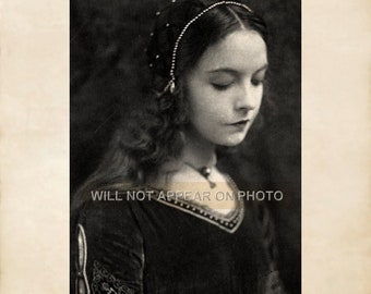 Early 1900's Lillian Gish Portrait Reprint Vintage Photograph 034
