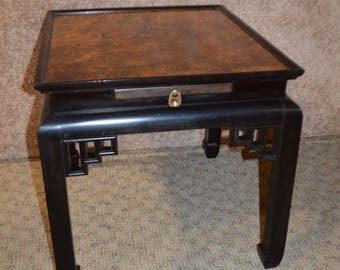 Asian end tables Etsy