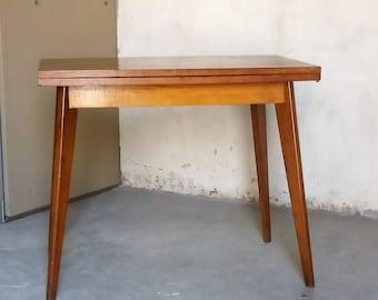 Vintage space saving table