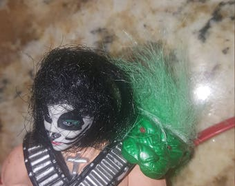 Kiss rock star action figure