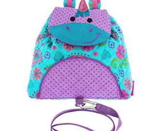 unicorn backpack, preschool backpack, toddler backpack, harness backpack