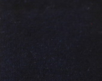 KNIT Fabric: Solid Navy Cotton Lycra knit