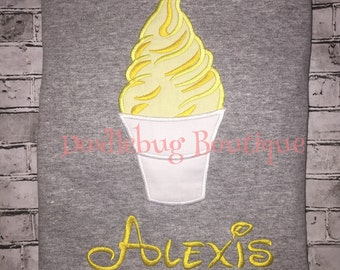 Dole Whip shirt with name or saying