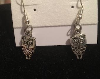 Hoot Owl Earrings