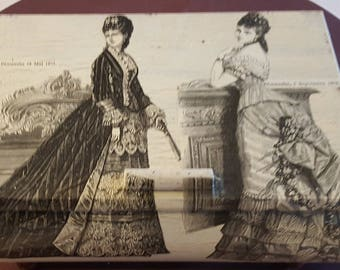 Large rounded box 1875 N 484 1900 fashion prints