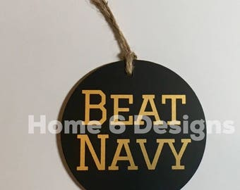 Beat Navy| Ornament| Go Army| West Point