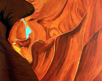 Canyon of Fire (Antelope Canyon)