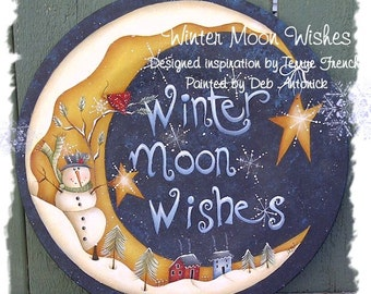 Winter Moon Wished by Deb Antonick, email pattern packet