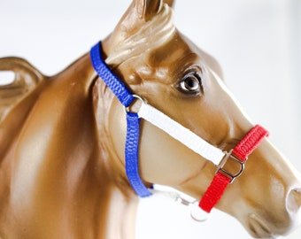 Traditional Breyer Horse Patriotic Halter