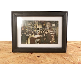 Framed 1908 Chinatown Post Card