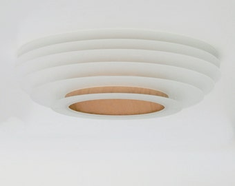 Nuage No. 2 - contura acrylic glas and wood veneer fixture
