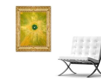 OXYGEN - Original Abstract Art on Canvas - Modern Art - Fine Art Print - Decorative Wall Art