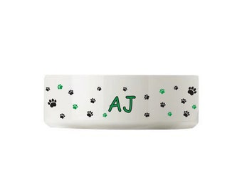 Any pooch would love these personalised doggy bowls.