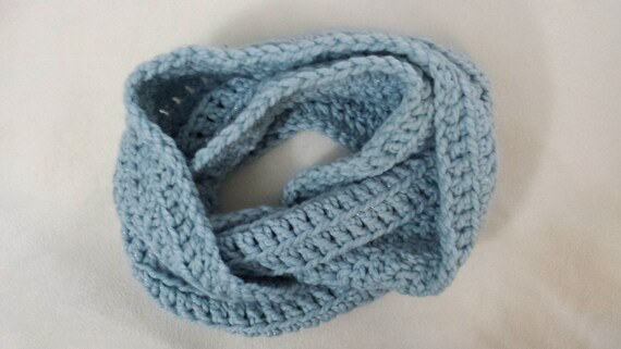 Pattern Subtle Stripes Infinity Scarf Crochet Pattern From