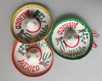 MH012 Single Mini Mexican Sombrero Hat 3""