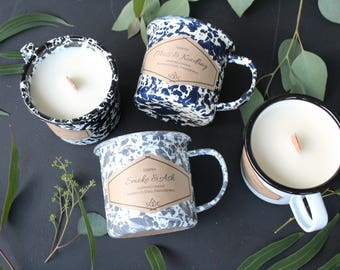 Camping Candles - Nature Inspired // Pure Soy