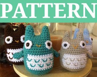 Baby Owl Crochet PATTERN