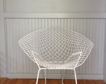 Good Vintage Mid Century Bertoia Diamond Wire Chair ***READ LISTING Before  Purchasing**
