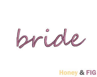 Bride Embroidery Design-Bride-Wedding Embroidery Files- Bride Embroidery Design