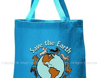 Planet Dachshund Tote Bag