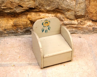 Little vintage doll chair