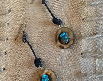 Blue Ocean Earrings