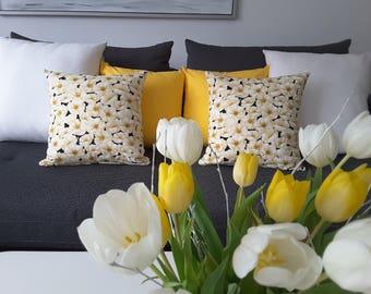 "Cushion cover ""Anemone Garden"""
