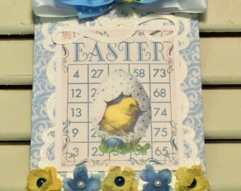Easter Wall Hanging, Easter Decoration,  Easter Chic