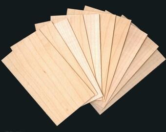 Holz, dünne, leere Karten - Handwerk, Tags, ATCs, verändert Bücher, Scrapbooking