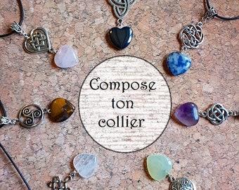 Celtic personalize necklace