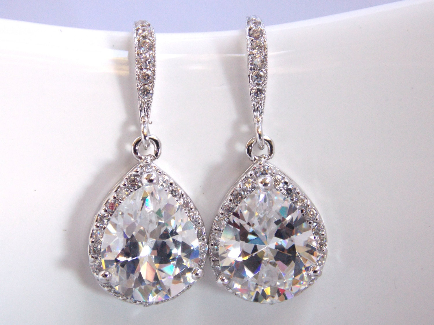 bride zoom earrings long il crystal bridal listing wedding qftx fullxfull
