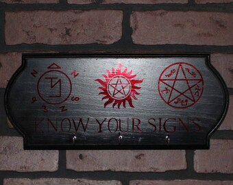 Know Your Signs Key Holder - Custom
