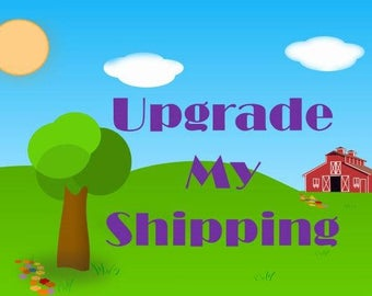 Upgrade to Faster Shipping