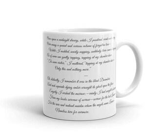 Edgar Allen Poe - The Raven - Mug