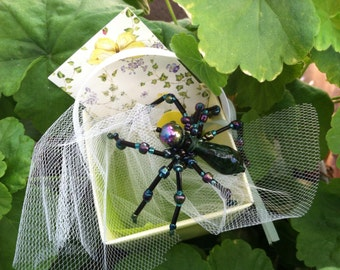 Bejeweled Spiders