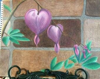 Bleeding Hearts Original Art