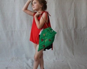 SAVE NOW 50% OFF Couture Green Leaf Ladybug Purse Handbag by Couture