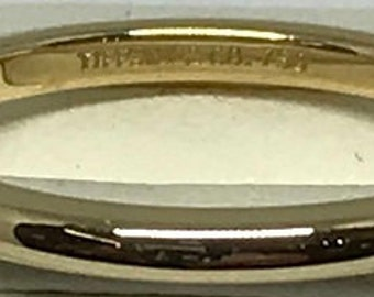 Tiffany & Company wedding band