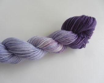 Hand Dyed wool mini- Lilacs