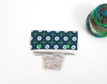 Needle cozy, DPN holder, needle Cozies, needle guard, needle play bag, 6 inches/15 cm