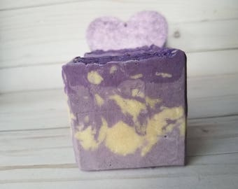 Mi Amor - Love Spell Soap - Huge soap gift for her - Palm Free - Vegan Friendly BIG BAR of Soap- Shea Butter and Coconut soap