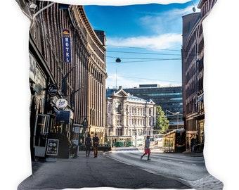 Helsinki Life - Square Pillow